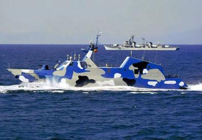 Rührreibgeschweißtes Raketen-Schnellboot der Houbei-Klasse (Fast Attack Craft, Type 022)
