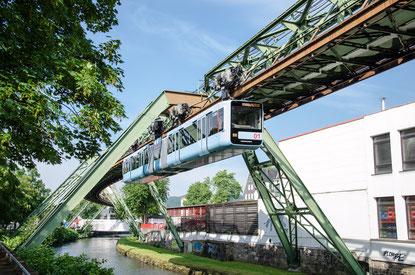 Wuppertal Schwebebahn: Friction stir welded monorail GTW Generation 15
