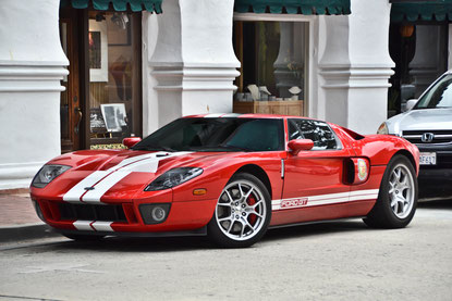 Ford GT in Carmel-by-the-Sea, California