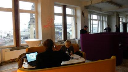 Gehören Sofas und Lounges zur Büroausstattung der Zukunft? | Bild: greenIMMO