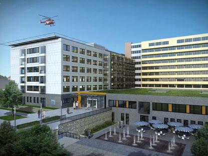 Diakonissen Stiftungs Krankenhaus Speyer | © sander.hofrichter architekten Partnerschaft, Ludwigshafen