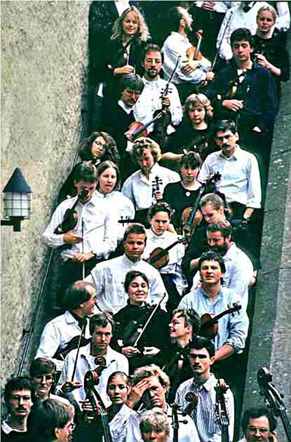 Probenfahrt Rotenfels 1989