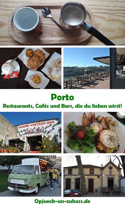 Porto - Restaurants, Cafés und Bars, die du lieben wirst!