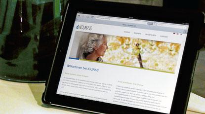 ICURAS Corporate Website