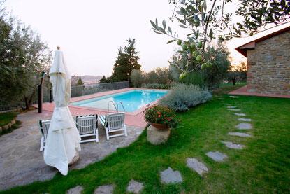 Residenza  Morena - Exlusivvilla  14 + 2 Personen Castiglion Fiorentino Toskana