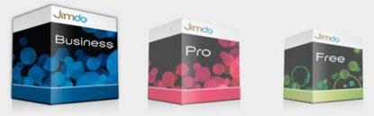 crea sito Jimdo free pro o business