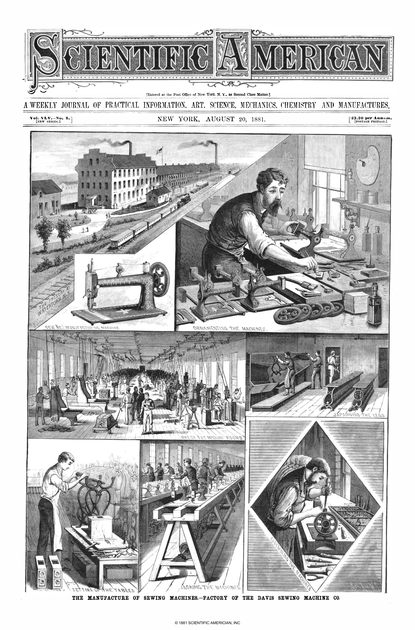 1881 Scientific American