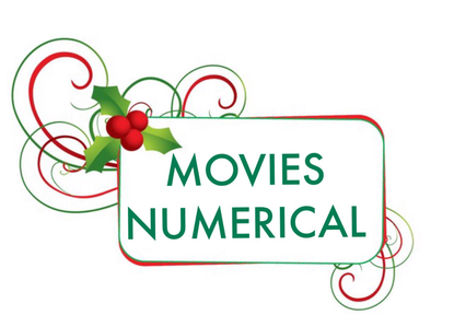 Christmas Movies starting with numbers