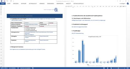 Gratis Vorlage, Abschlussbericht, Finalbericht, Projektbericht, Endbericht, Projektendbericht