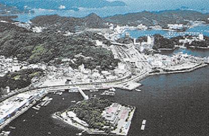 「ミキモト真珠島」全景