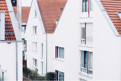 Eigentumswohnung, Reihenhaus, Doppelhaushälfte
