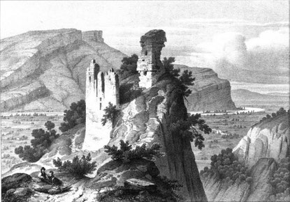 Château Vieux de Voreppe au XIXème