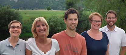 Die DonauDocs: v.l. S. Jumpertz, Dr. S. Härdtle, Dr. B. Kappeler, Dr. H. Renner, Dr. A. Lux
