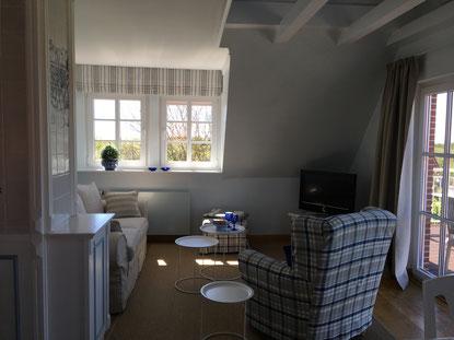 """Wohnzimmer, Ferienwohnung """"Wattkieker"""""""