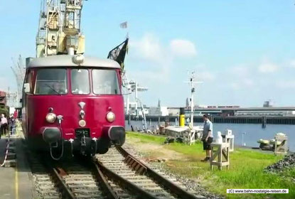 Triebwagen Fridolin der Hamburger Hafenbahn