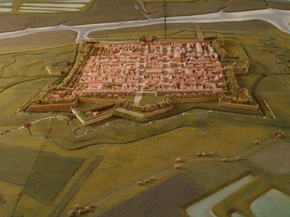 La CItadelle de Brouage près d'Oléron
