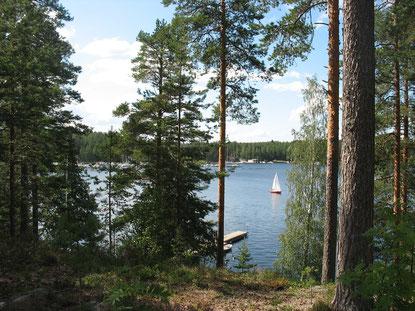 Saimaa ist der viertgrößte natürliche See Europas - rund 4.370 km²