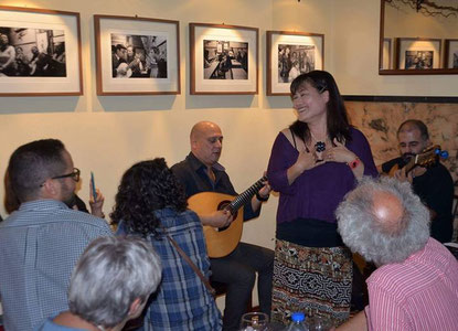 MACHAKO's Fado live at Diamonia
