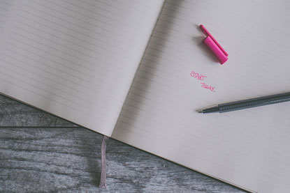 Schrift: Start today
