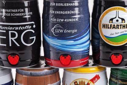 5 Liter Bierfass Partyfass Fass Großdose Dose Minikeg Beerkeg Fässchen Metallverpackung HUBER Packaging my partykeg kaufen