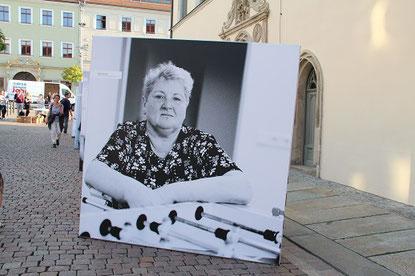 Martina Seifert, Mitarbeiterin der Lebenshilfe Pirna-Sebnitz-Freital e.V.