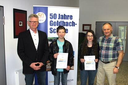 v.l.: Heiko Bickel, Fabiano Göbel, Lena Benner, Johann Eisfeld