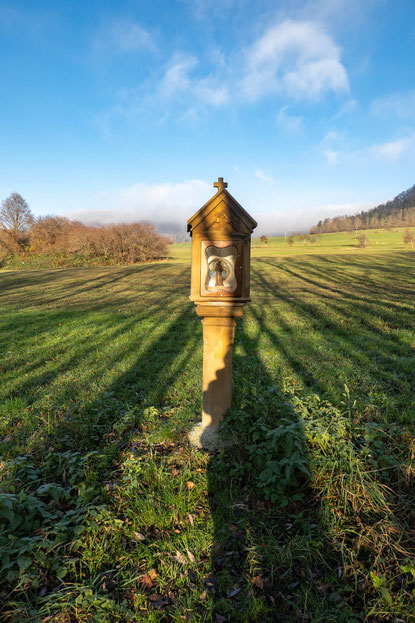 © Traudi – Bildstock beim Simonsbach-Stausee, Donzdorf