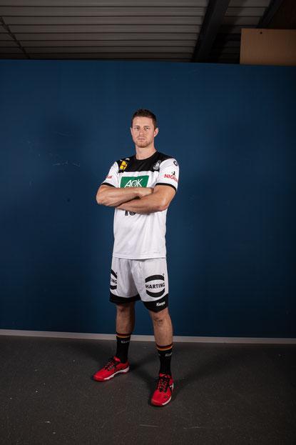 Handball-Nationalspieler Martin Strobel (Quelle Foto: Steven Kaminsky)