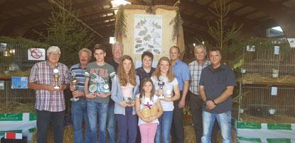 Die Preisträger der Lokalschau 2018