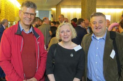 Hoorzitting Provinciehuis v.l.n.r. Karel Thieme, Hendrika Hoekstra & Ruud Lammers
