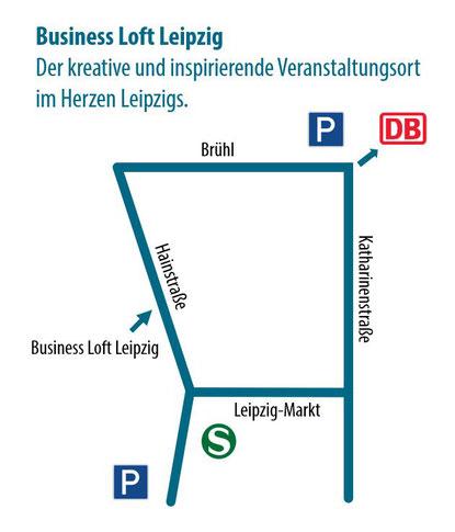 Business Loft Leipzig. So finden Sie uns.