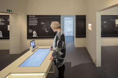 Weiterer Ausstellungsraum. Bild: Haus der Geschichte Baden-Württemberg / Daniel Stauch.
