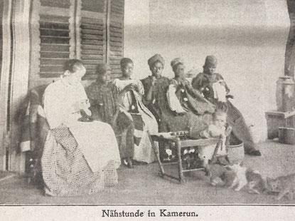 Bild aus: Kolonie und Heimat 1910-11, No. 42, S. unbekannt; Kopie.