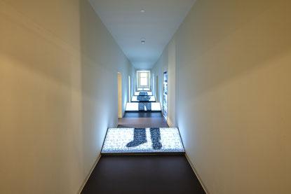 Collage im ersten Stock. Bild: Haus der Geschichte Baden-Württemberg / Daniel Stauch.