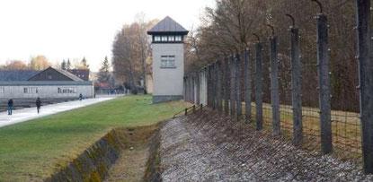 Gelände der KZ-Gedenkstätte Dachau. Bild: KZ-Gedenkstätte Dachau.