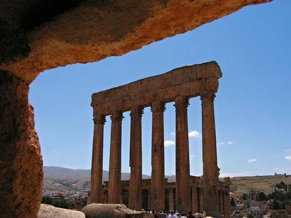 Säulen in Baalbek