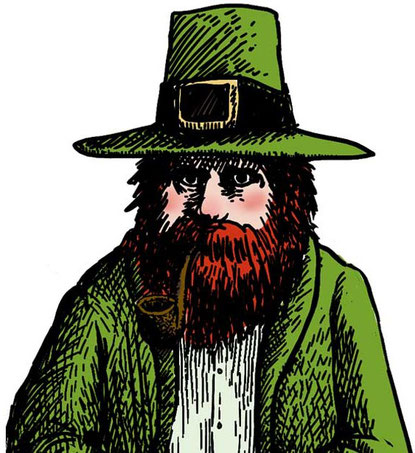 Irland ist bekannt als Land der Feen, Kobolde und Geister