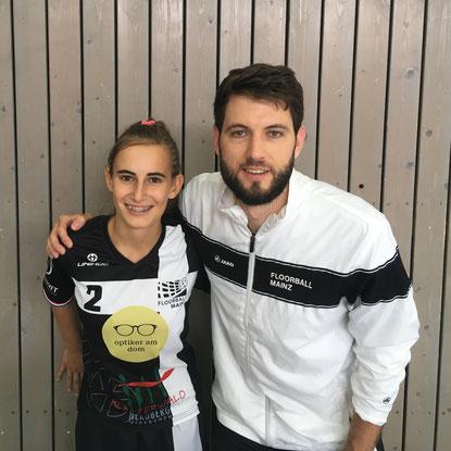 erste Jugendspieler haben bei Floorball Mainz den Sprung in den Regionalligakader geschafft