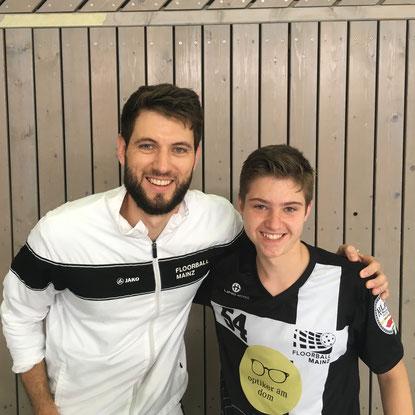 Bei Floorball Mainz spielen Jugendnationalspieler aus vier Nationen in der Regionalliga.