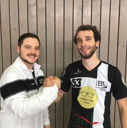 Auch aus dem AHS der JGU Mainz schaffen immer wieder Spieler den Sprung in den Regionalligakader