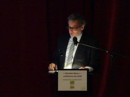 Pierre Olivier Lefebvre, délégué général du Réseau francophone des Villes amies des ainés