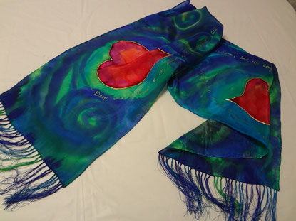 Deep Calls to My Heart Scarf