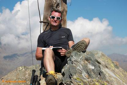 Gipfelkreuz Nagelstein - 2469 m