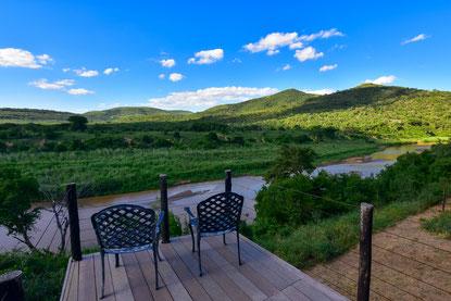 Ausblick vom Nselweni Bush Camp