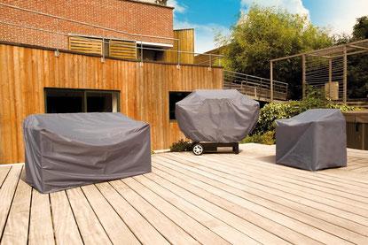 ©Nortene - Covertop, housse de protection pour mobilier de jardin
