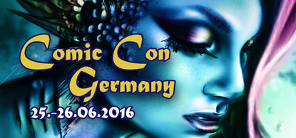 "Comic Con Germany Banner für ""KuroArts"""