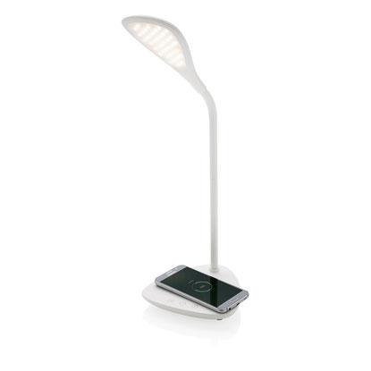 Kabellose Ladestation Lampe bedrucken, Wireless Lampe, Wireless Lampe bedrucken, Kabellose Ladestation mit Licht, Kabellose Ladestation mit Logo, Wireless-Charging bedrucken