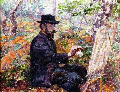 Paul Ranson sur le motif, Georges Lacombe (1905-1908)