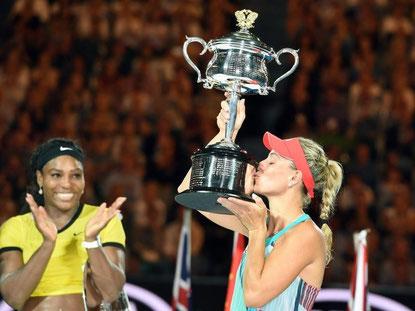Angelique Kerber hat die Australian Open gewonnen. Foto: Filip Singer