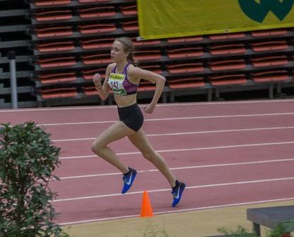 Carina Reicht, überlegene W U-18 Siegerin mit österreichischer Bestleistung